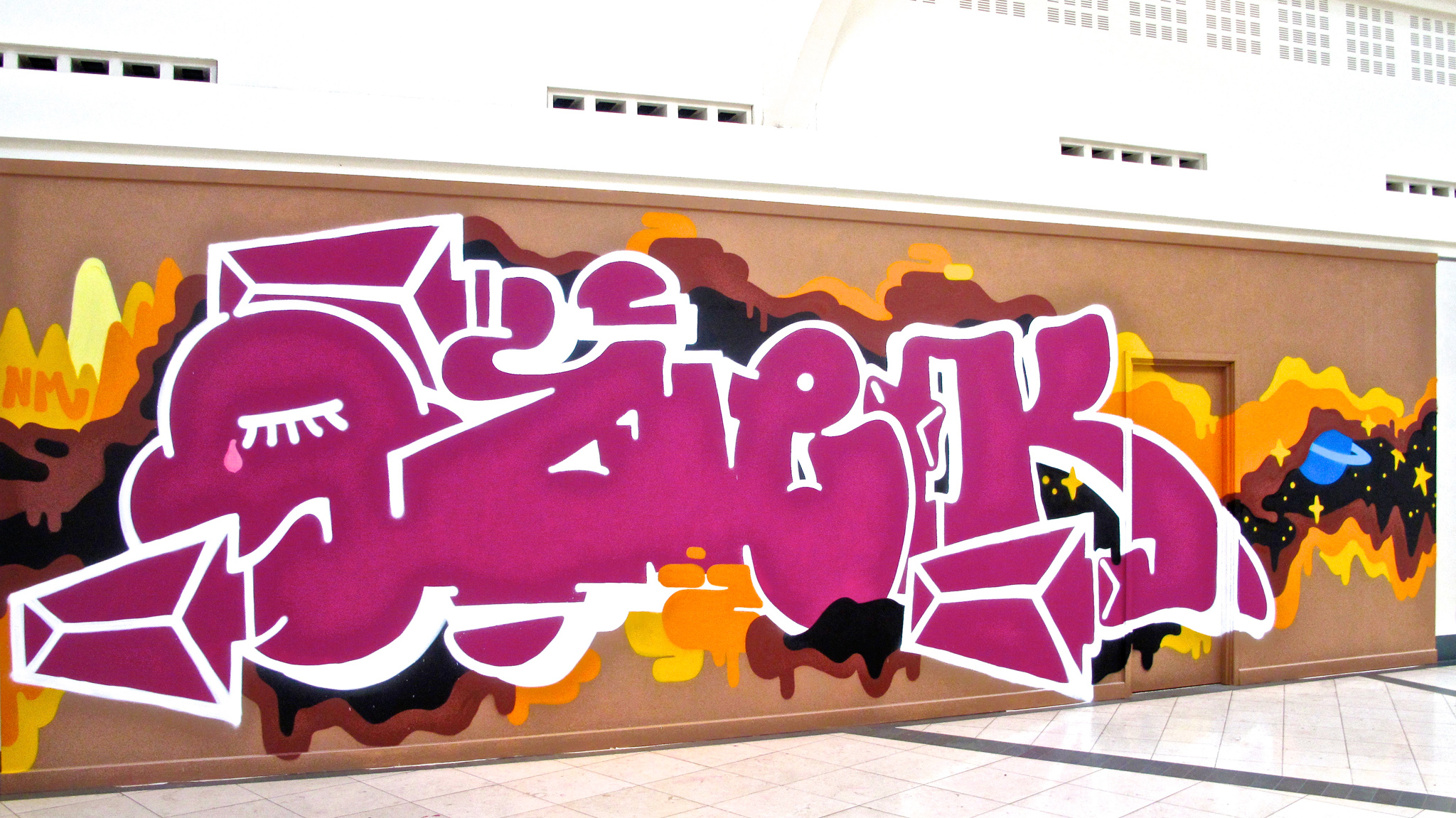graffiti commission manchester corn exchange