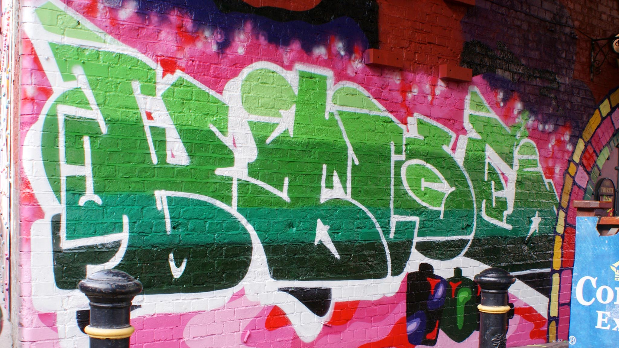graffiti commission-onek-krek-manchester